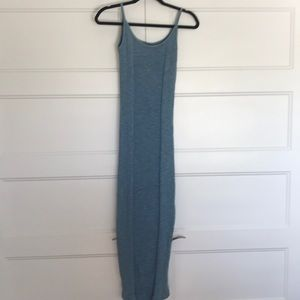 Free People fitted maxi dress never worn